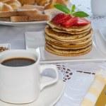 Постер, плакат: American breakfast