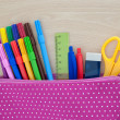 Assorted school supplies — Stock Photo #26980937