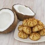 Coconut cookies — Stock Photo #29692411