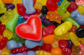 Candy for Valentine — Stock Photo