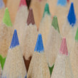 Pencil crayons in different colours — Stock Photo #39433921
