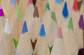 Pencil crayons in different colours — Photo