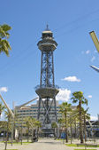 The Torre Jaume in Barcelona — Stock Photo