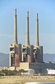 Las tres chimeneas de Sant Adrià — Photo