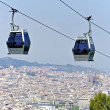Stock Photo: Funicular on Montjuic