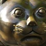 The Botero Cat — Stock Photo #38413873