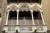The Gothic district in Barcelona — Stock Photo