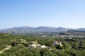 View over Pitsidia, Crete — Stock Photo