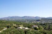 View over Pitsidia, Crete — Stock Photo