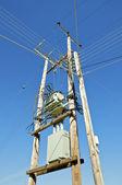 Power pole — Stock Photo