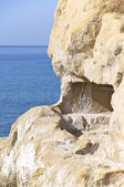 The Caves Of Matala — Stock Photo