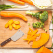 Healthy Food Preparation — Stock Photo