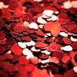 Heart Shaped Confetti — Stock Photo