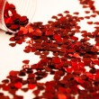 Stock Photo: Heart Shaped Confetti