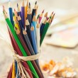 Coloured Pencils — Stock Photo #25246339
