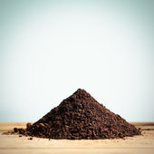 Heap of Soil — Stock Photo