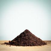 Heap of Soil — Stock Photo