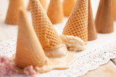 Ice-Cream Upside Down — Stock Photo