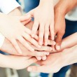 Hands Together - Foto Stock