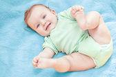 Beautiful Baby Boy After Bath — Stock Photo