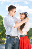 Happy Romantic Couple — Stockfoto
