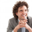 Confident Young Businessman — Stock Photo