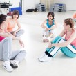 Women Exercising in a Fitness Class — Stock Photo #25283373