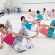 Women Exercising in a Fitness Class — Foto de Stock