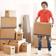 Moving House — Foto de Stock