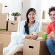 Moving In — Stock Photo