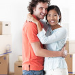 Couple Moving In — Stock Photo #25283561