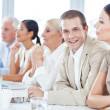 Businessman in a Meeting — Stock Photo #25283901