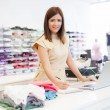 Shop Assistant — Stock Photo