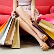 Shopaholic — Foto Stock