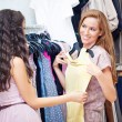 Buying a Dress — Stock Photo #25284419