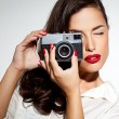 Fashion Photographer - Stock Photo