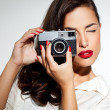 Fashion Photographer — Stock Photo