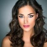 Beautiful Caucasian Woman — Stock Photo