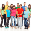 Stock Photo: Group of Young