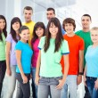 Stock Photo: Group of Smiling People5
