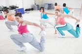 Women Exercising in a Fitness Class — Stock Photo