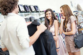 Buying a Suit — Stock Photo