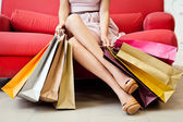 Alışverişkoliğin — Stok fotoğraf