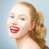 Beautiful Laughter — Stock Photo