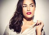 Donna moda — Foto Stock