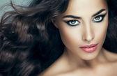 Belle femme caucasienne — Photo