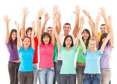 Arms Up! — Stock Photo