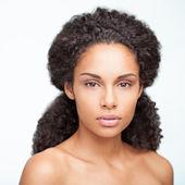 чувственный африканская женщина — Стоковое фото