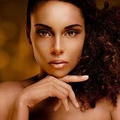 африканский идеал красоты — Стоковое фото