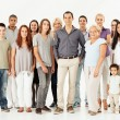 Stock Photo: Mixed Age Multi-Ethnic Group